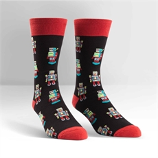 Men's Crew Robosocks-clothing-and-accessories-The Vault