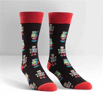 Men's Crew Robosocks