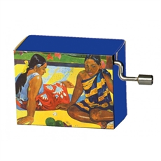 Gauguin Two Women =  Vivaldi Spring-woman-The Vault