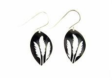 Toi Toi earrings - Alum - Black-jill-main-The Vault