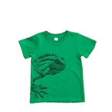 Kid's T Tuatara Green 2 Year Old-tumbleweed-The Vault