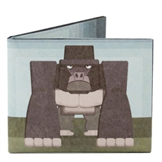Mighty Wallet Angry Gorilla-wallets-and-bags-The Vault