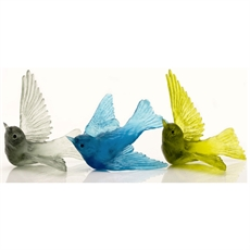 Lukeke Cast Glass Swallow-glass-and-ceramics-The Vault