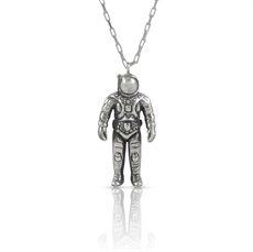 Nick Von K Spaceman Necklace -nick-von-k-The Vault