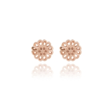 Boh Runga Lotus Studs Rose Gold 9ct -boh-runga-The Vault