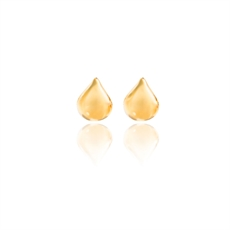 Boh Runga Droplet Studs Yellow Gold 9ct-earrings-The Vault