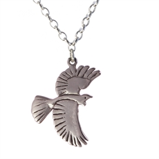 Flying Tui Pendant-necklaces-The Vault