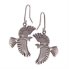 Tui Earrings Silver-jewellery-The Vault