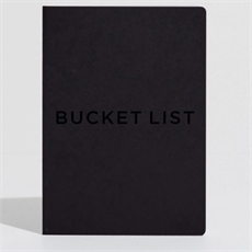 Bucket List Journal Black  -office-The Vault