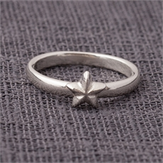 Tiny Star Ring  Stg-rings-The Vault