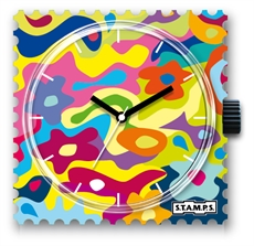 Stamps Watch Face Flower Smoothie-watches-The Vault