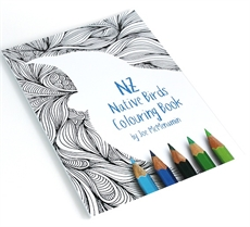 NZ Native Birds Colouring Book -office-The Vault