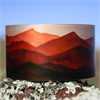 Alum Cuff Southern Alps Red-jewellery-The Vault