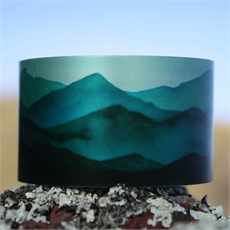 Alum Cuff Southern Alps Teal-jill-main-The Vault
