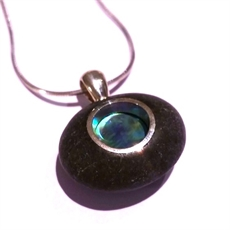 Paua Rockpool Pendant-jewellery-The Vault