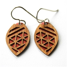 Laser Veneer Earrings Taniko Russ-earrings-The Vault