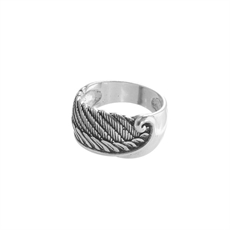 Harmony Silver Angel Wing Ring -jewellery-The Vault