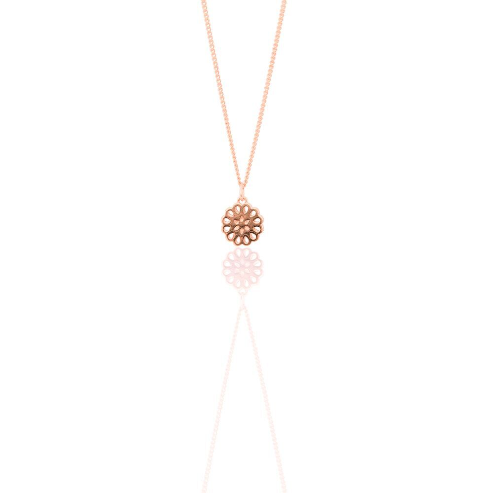 9ct rose gold lotus petite pendant jewellery view all jewellery 9ct rose gold lotus petite pendant mozeypictures Image collections