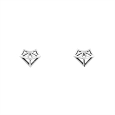 Dainty Aztec Fox Studs-earrings-The Vault