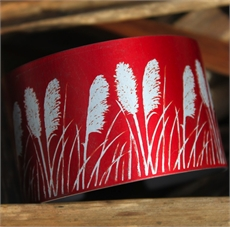 Jill Main Alum Cuff - Toi Toi Red-jill-main-The Vault
