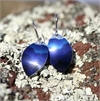 Alum Southern Alps Earrings Cobalt-jewellery-The Vault