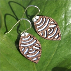 Alum Veneer Earrings Wave-jill-main-The Vault