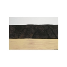 McCahon Nth Otago 2 A2 Print Framed Bk-wall-art-and-prints-The Vault