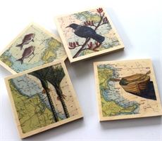 The Bach Set of 4 Coasters-under-$50-The Vault