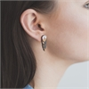 Huia Feather Earrings-jewellery-The Vault
