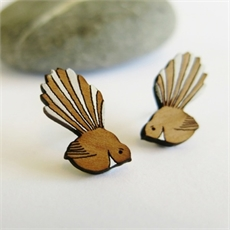 Fantail Earrings-clothing-and-accessories-The Vault