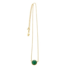 Ottoman Necklace - Green Onyx-necklaces-The Vault