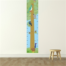 Tall Timber Height Chart Native Birds-artists-The Vault