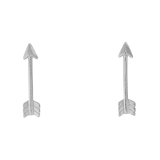 Arrow Studs   -earrings-The Vault