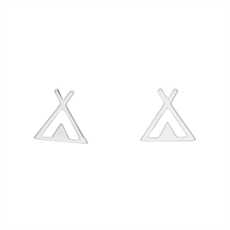 Tipi Studs -earrings-The Vault
