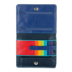 Double Flap Organiser Black Pace-for-her-The Vault