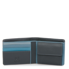 Wallet Coin Pocket Section Smokey Grey-wallets-and-bags-The Vault