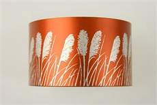 Jill Main Alum Cuff - Toi Toi Orange-jill-main-The Vault