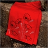 Merino Scarf Poppy Red-for-her-The Vault
