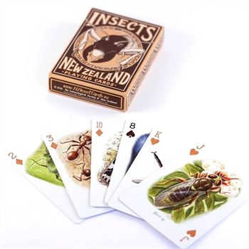 Insects of NZ Playing Cards