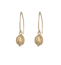 Poppy Earrings 18ct Gold Plate-earrings-The Vault