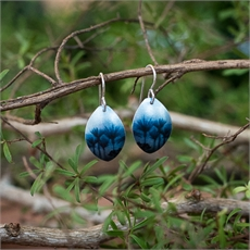 Alum Forest Earrings Azure-jill-main-The Vault