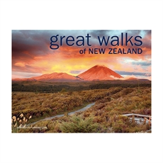 Great Walks of NZ 2018 Calendar -office-The Vault