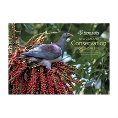 NZ Conservation Wall 2018 Calendar-office-The Vault