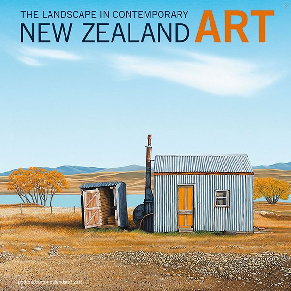 contemporary nz art 2018 calendar
