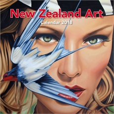 NZ Art Large 2018 Wall Calendar-office-The Vault