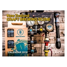 NZ Craft Brewing Scene 2018 Wall Calenda-office-The Vault