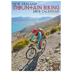 NZ Mountain Biking 2018 Calendar-office-The Vault