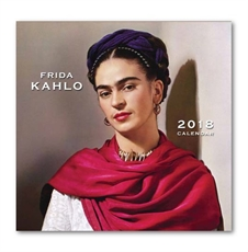 Frida Kahlo 21x21cm Calendar 2018-office-The Vault