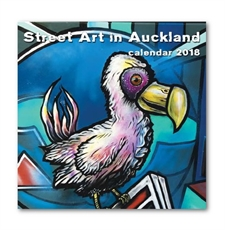 Street Art In Auckland Calendar 2018-office-The Vault