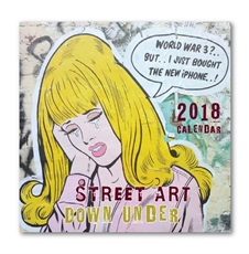 Street Art Down Under 30cm Calendar 2018-office-The Vault